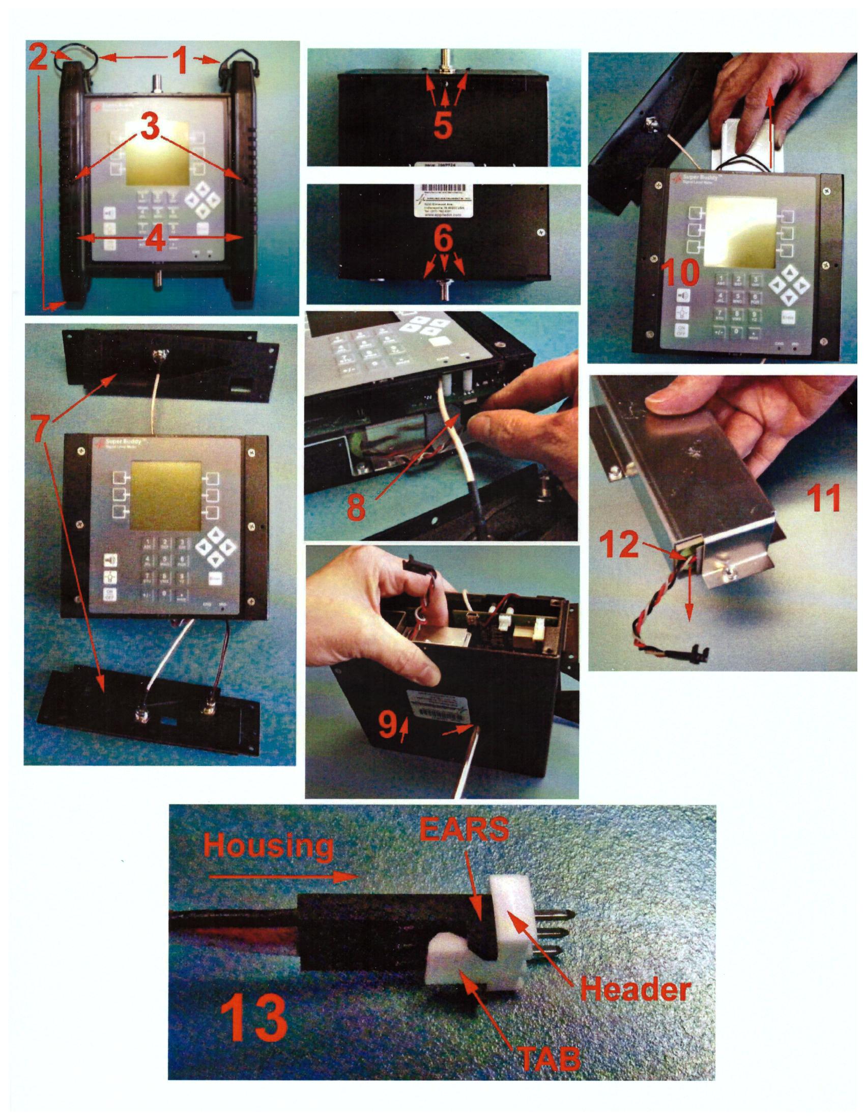 super buddy satellite meter manual